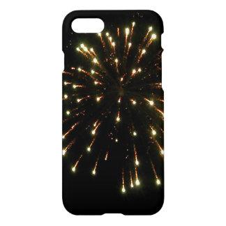 GoldFeuerwerks-Explosion iPhone 8/7 Hülle
