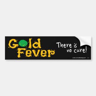 Goldfieber Autoaufkleber