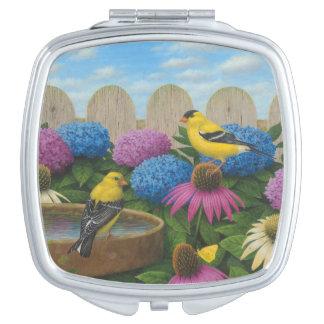 Goldfinches Taschenspiegel