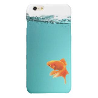 Goldfisch iPhone 6/6S plus ausgebufften Fall