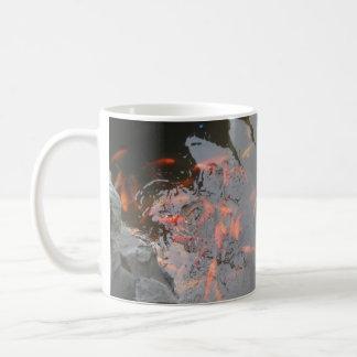 Goldfische in koi Teich Kaffeetasse