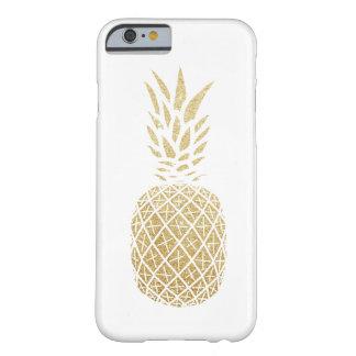 GoldGlitter-Ananas-Telefon-Kasten Barely There iPhone 6 Hülle