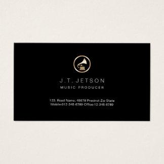 Goldgrammophon-Ikonen-Musik-Produzent-Visitenkarte Visitenkarte