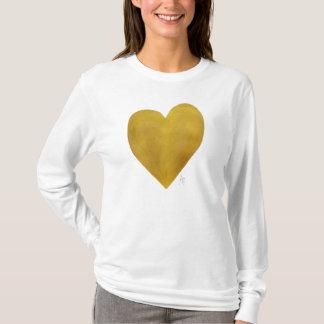 GoldherzTrendy Chic-Liebe-lang Sleeved T - Shirt