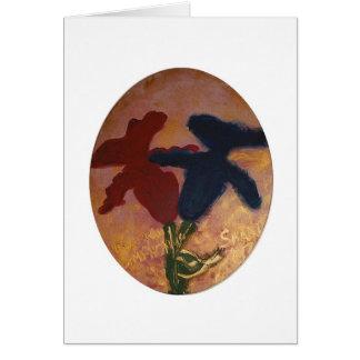 Goldhochzeitskarte für ein jüdisches Paar Karte
