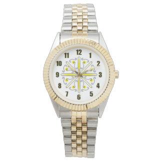 Goldhummel-Uhr Armbanduhr