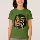 GoldhundPapercut chinesisches neues T-Shirt
