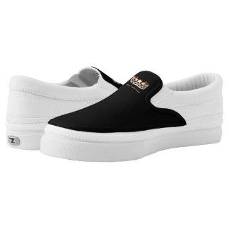 Goldkronen-Tennis-Schuhe Fräulein-USA Slip-On Sneaker