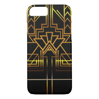 Goldkunst-Deko-Telefon-Kasten iPhone 7 Hülle