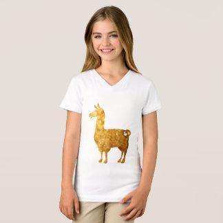 Goldlama scherzt T - Shirt
