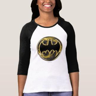 Goldlogo Batman-Symbol-| T-Shirt