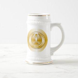 Goldmedaille, Bierglas