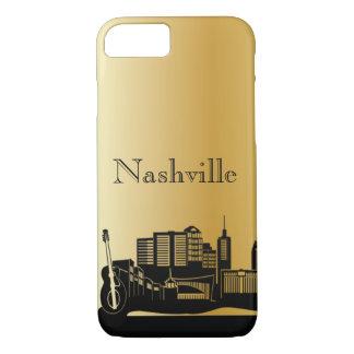 Goldnashville-Silhouette-Telefon-Hüllen iPhone 8/7 Hülle
