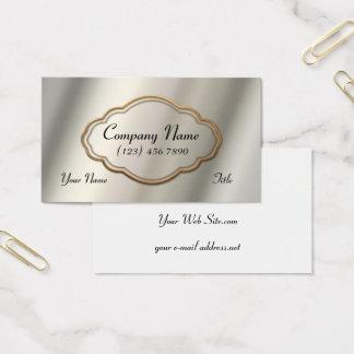 Goldrahmen Visitenkarte