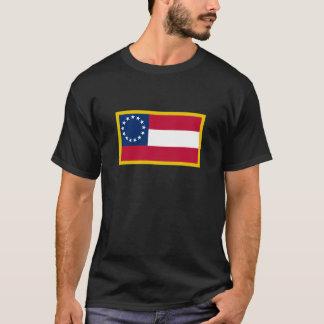 Goldrand-1. Flagge der Konföderierten T-Shirt