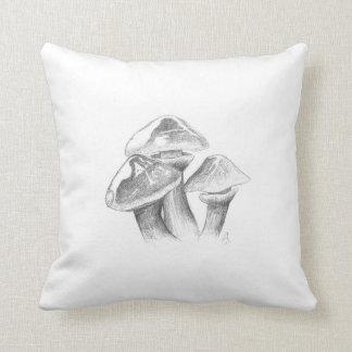 Goldröhrling Pilz Zeichnung Kissen