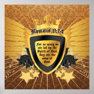 Goldrömer-8:14, Söhne des Gottes Poster