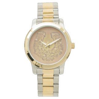 GoldRosen Hufeisen Armbanduhr