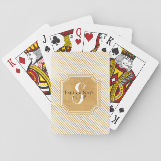 Goldstreifen-kundenspezifische Spielkarten