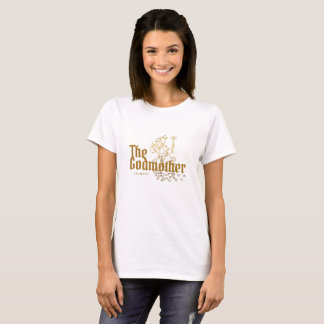 Gold Typography The Godmother Keepsake