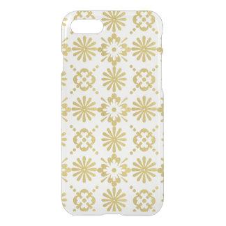 Goldviktorianisches inspiriertes Muster iPhone 8/7 Hülle