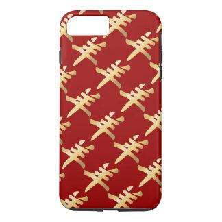 GoldYang-Symbol-Schaf-Ziegen-RAM, das Muster iPhone 7 Plus Hülle
