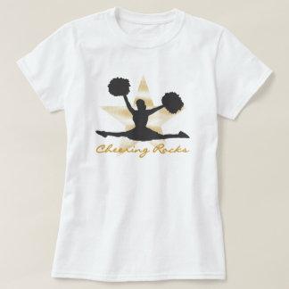 Goldzujubelnde Felsen-T - Shirts und Geschenke