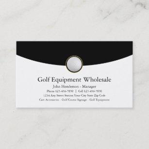 Golf-Ausrüstungs-Großhandel-Visitenkarten Visitenkarte