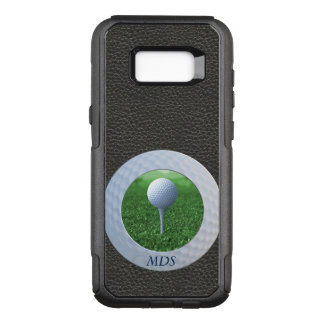 Golf-Ball Otterbox Foto-Rahmen-Monogramm OtterBox Commuter Samsung Galaxy S8+ Hülle