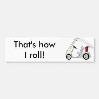 golf_cart autoaufkleber