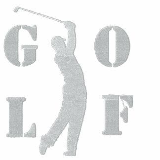 Golf gesticktes Polo-Shirt Besticktes Polo Shirt