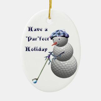 Golf-Golf spielende