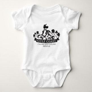 Golf-Küsten-Baby Onsie Baby Strampler