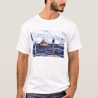 Golf-Küstenleuchttürme T-Shirt