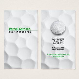 Golf-Lehrer | beruflich Visitenkarte