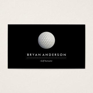 Golf-Lehrer-Visitenkarte Visitenkarte