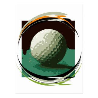 Golf Postkarten