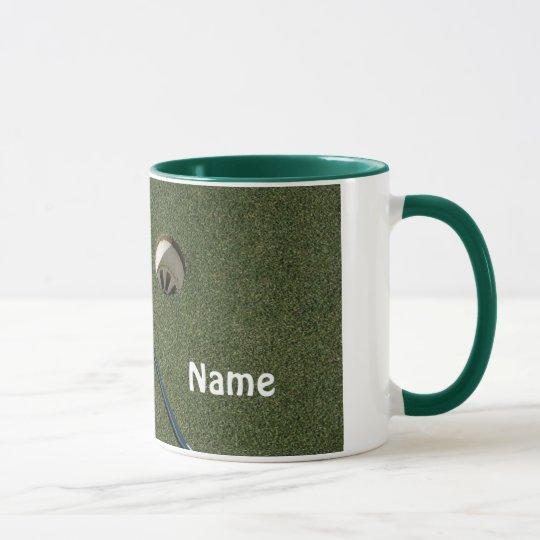 Golf Schale-Setzte eigenen Namen auf es Tasse