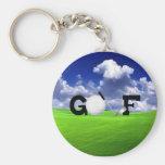Golf Schlüsselband