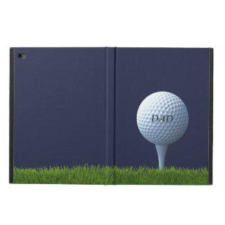 Golf spielender Vati-Golfball iPad Fall