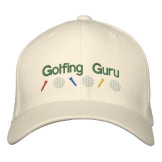 Golf spielendes Guru Bestickte Kappe