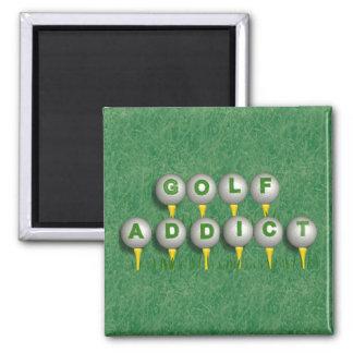 Golf-Süchtiger Quadratischer Magnet
