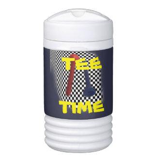 Golf-T-Stück Psychobabble-Spritzen Igloo Getränke Kühlhalter