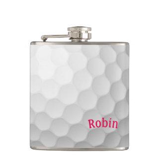 Golf-Themed Flasche personalisiert für sie Flachmann