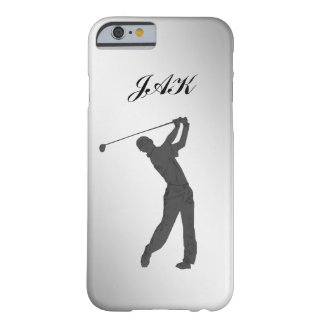 Golf-Typ-kundengerechtes Monogramm Barely There iPhone 6 Hülle