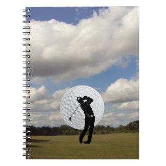 Golf-Welt Notizblock