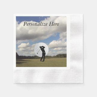 Golf-Welt Serviette