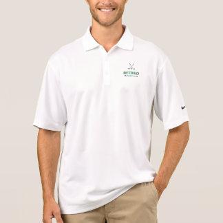 Golf ZOG sich, die Golf-Vereine zurück, die Golf… Polo Shirt