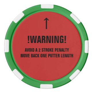Golfball-Aufklärer-Pokerchip mit Poker Chips Set