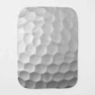 Golfball bildet Beschaffenheits-Muster Grübchen Baby Spucktuch